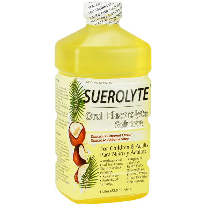 SUEROLYTE COCONUT 33.8oz
