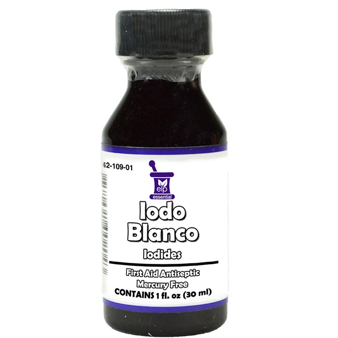 DOCTOR E IODO BLANCO 1oz