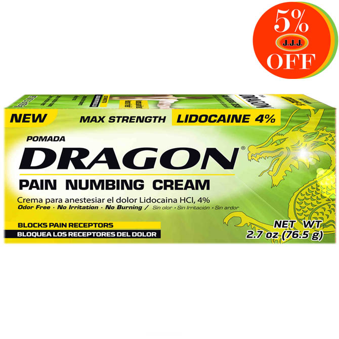 GENOMMA DRAGON MAX STRENGTH OINTMENT 2oz