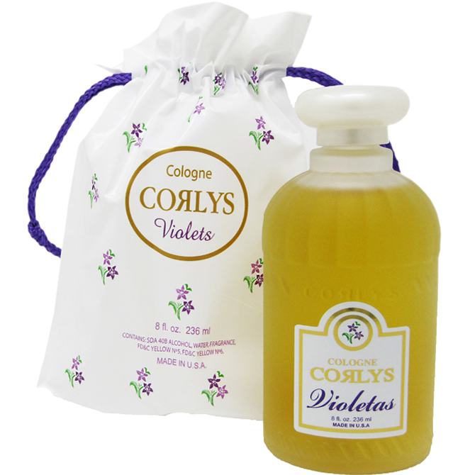 CORLYS COLOGNE VIOLET IN A BAG 8oz
