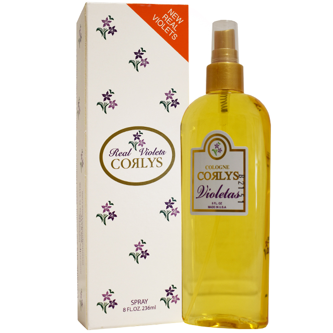 CORLYS REAL VIOLETS SPRAY IN A BOX 8oz