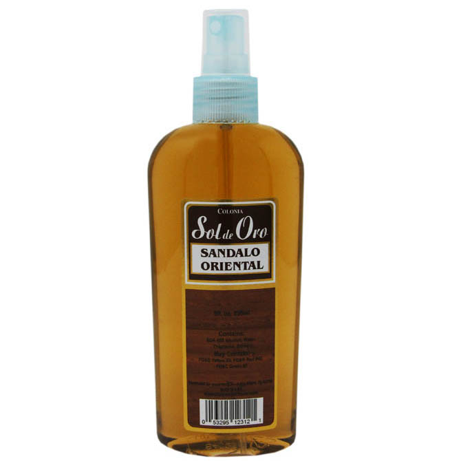 SOL DE ORO SANDALO ORIENTAL COLOGNE SPRAY 8oz