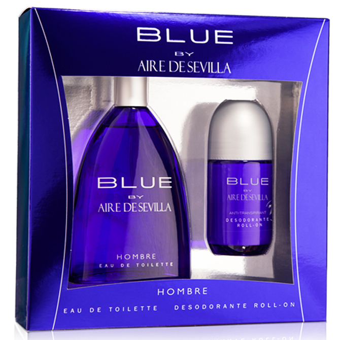 AIRE DE SEVILLA BLUE SET FOR HIM WITH COLOGNE & DEODORANT